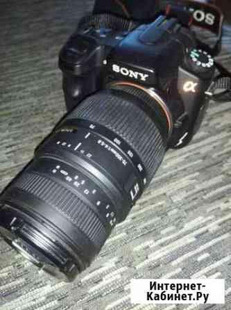 Зеркальный фотоаппарат Воркута