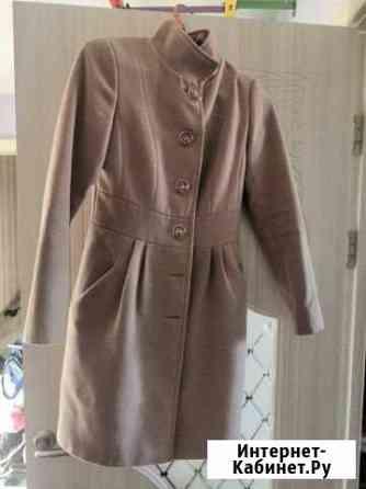 Пальто демисезонное с поясом Курган
