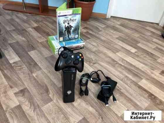 Приставка Xbox 360 Slim 4gb Black Петрозаводск