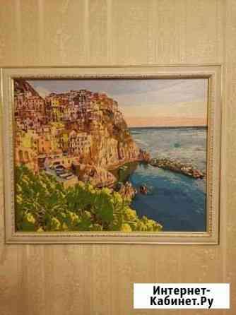 Картина Городок у моря Владикавказ