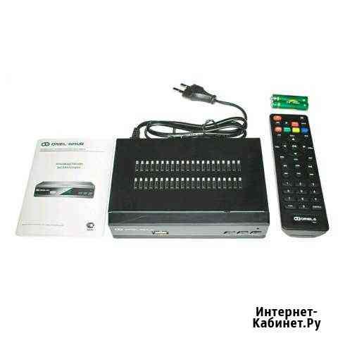 DVB-T2/C приставка (ресивер) Oriel 421UD с обучаем Ульяновск