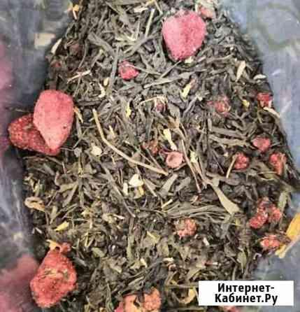Чай зеленый Земляника со сливками Ухта
