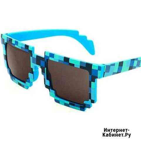 Синие очки из Майнкрафт для детей Киров