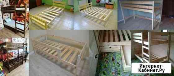 Кровати одно-двуспальные,двухъярусные Псков