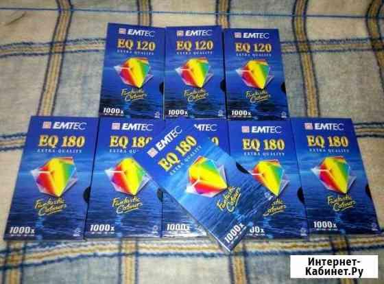 Кассеты для видеокамер VHS emtek (basf) Самара