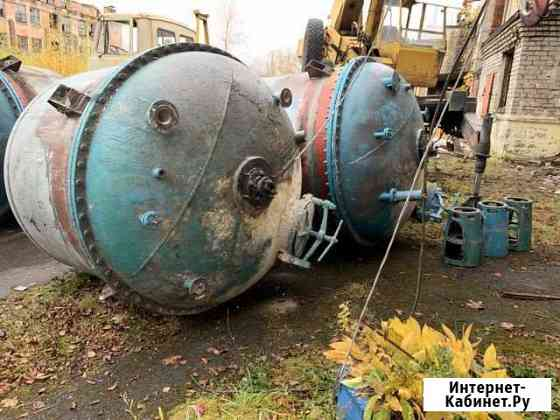 Аппарат (реактор) объёмом 5 м3 Уфа