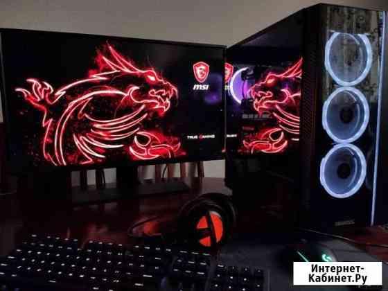 Игровой компьютер, 32дюйм+4к монитор, р5 3600 + Ве Урус-Мартан