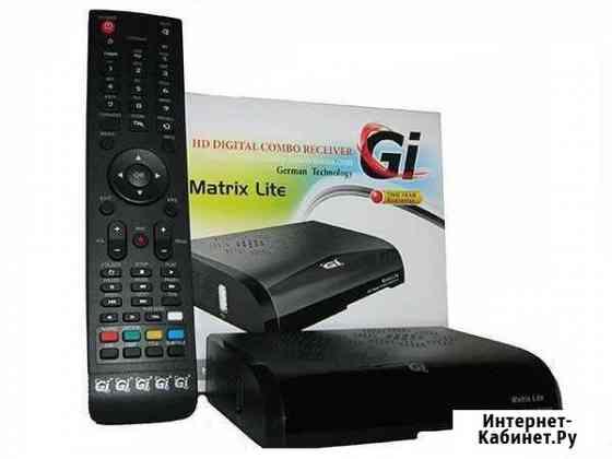 Спутниковый DVB-T2 ресивер GI Matrix Lite Ульяновск