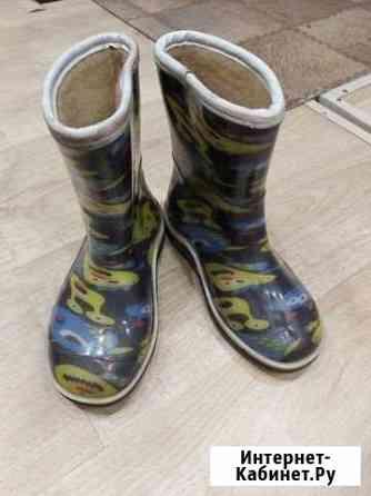 Утеплённые резиновые сапожки, 31 размер Улан-Удэ