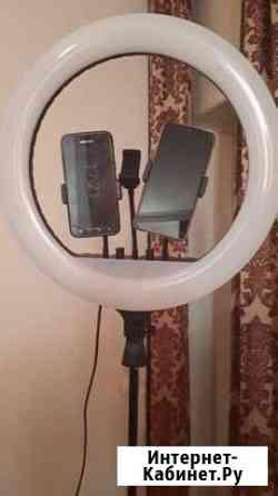 Лампа-селфи,для съемок,кольцевая Владикавказ