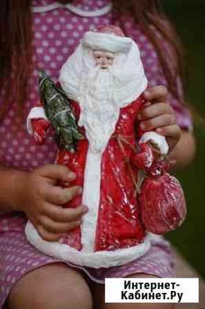 Дед Мороз из ваты Рязань