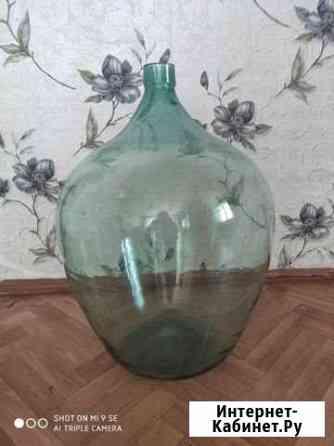 Стеклянная бутыль (40л) Беломорск