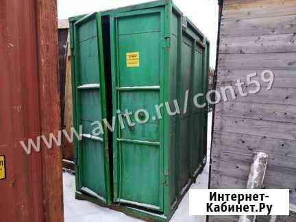 Контейнер 3Т, трёхтонный из Перми Уфа