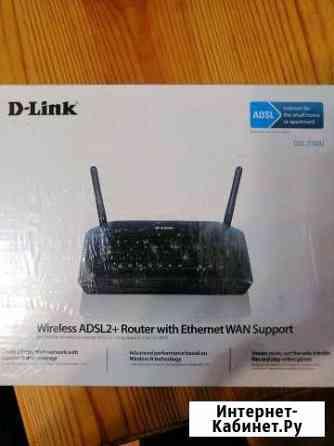 Адсл - модем (adsl - modem) DSL-2740U Гусь-Хрустальный