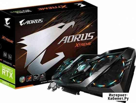 Видеокарта Aorus Xtreme 2080Ti 11Gb есть Рассрочка Грозный