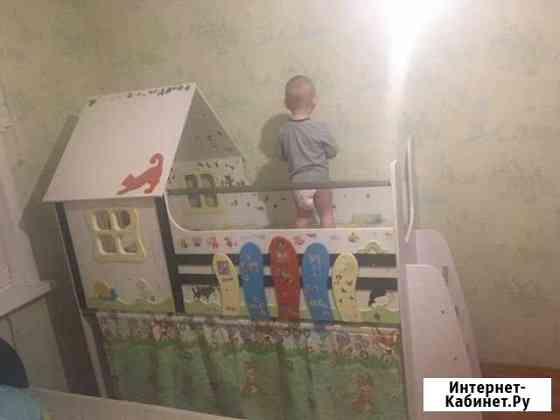 Кровать детская домик Хабаровск