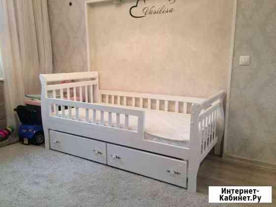 Детская кровать из массива сосны  Машенька 3 Рязань
