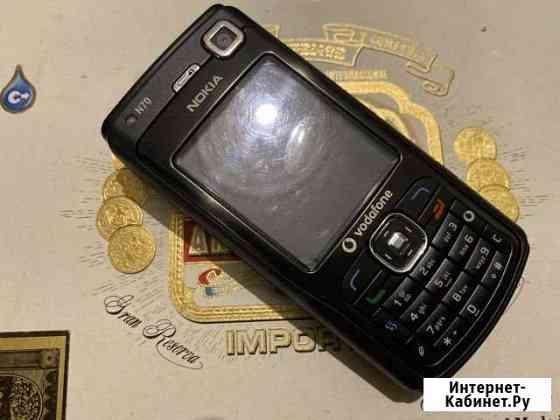 Телефон Nokia N70 чёрный как новый все родное Владикавказ