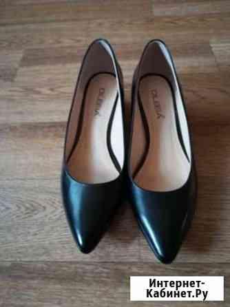 Туфли новые женские натуральная кожа, р 37 Саранск