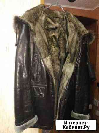 Куртка (кожа+мех волка) Муравленко
