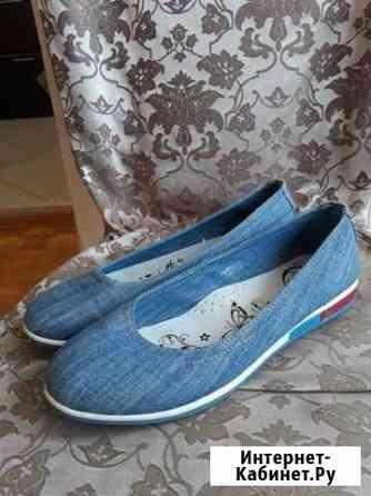 Балетки джинсовые Тольятти