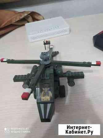 Вертолет Лего Апач Абакан