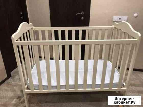 Кроватка детская Micunа (в комплекте бортики,матра Киров