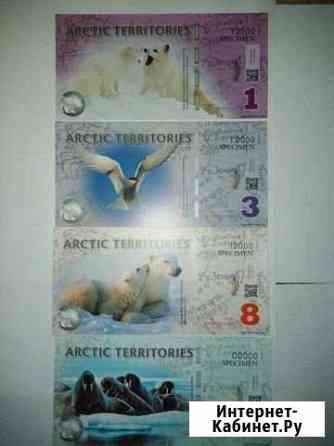 Банкноты арктической территории Воркута