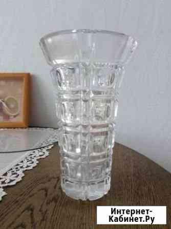 Хрустальная ваза Иркутск