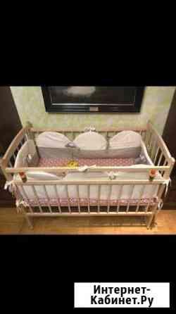 Кровать детская, матрас, бортики, все новое Волгоград