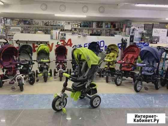 Велосипеды детские 3-х колесные с ручкой Волжский