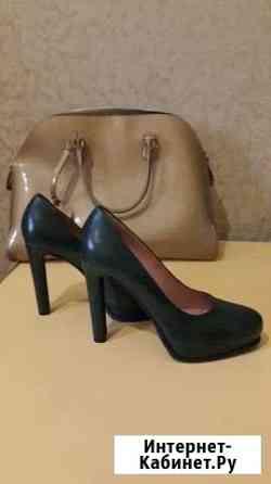 Туфли итальянские кожаные новые Махачкала