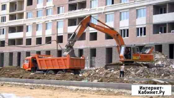 Вывоз грунта мусора Санкт-Петербург