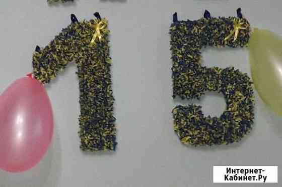 Цифра, буквы на день рождения. Фотосессию Обнинск