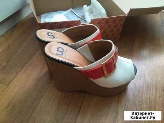 Туфли на танкетке Калуга