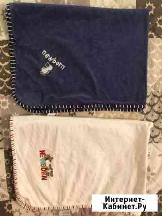 Одеяло двухслойное для новорожденного Lindex 90x60 Аннино