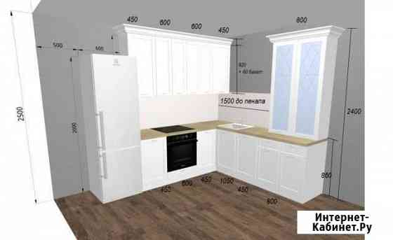 Нарисую проект кухни по вашим размерам. Быстро Саратов