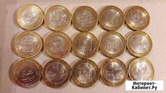 10 рублей биметалл Мурманск
