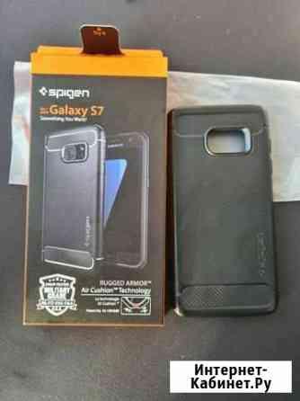 Чехол для телефона Samsung S7 Spigen Тула