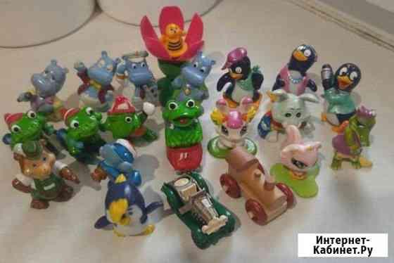 Киндер игрушки 90-х годов Омск