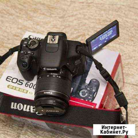Зеркальный фотоаппарат Canon 600d Иваново
