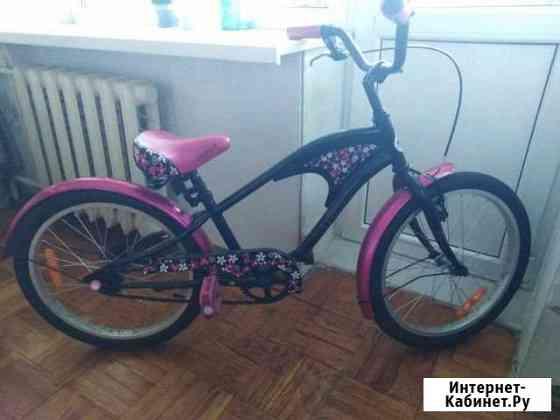 Детский велосипед для девочек 7-9лет Панковка