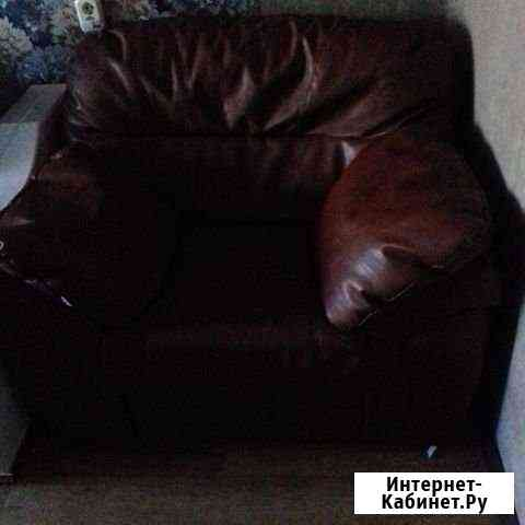 Кожанное кресло Кемерово