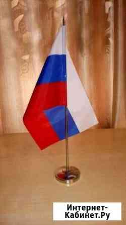 Флаг тканевый кабинетный, настольный, новый Ставрополь