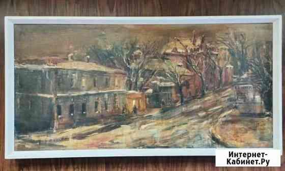 Картина Скаковая улица Якутск