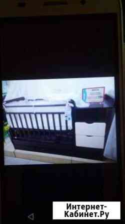 Кровать детская трансформер с пеленальным столом и Саранск