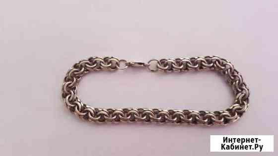 Мужской серебряный браслет 925 пробы Ставрополь
