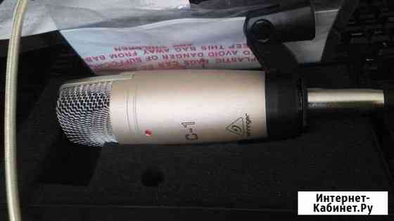 Behringer c-1 конденсаторный микрофон Саратов