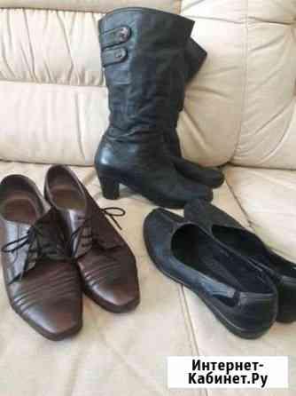 Обувь кожаная Псков