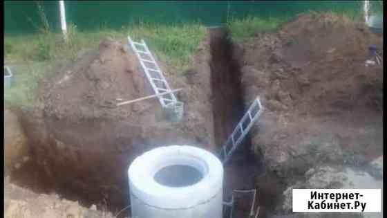 Септик, сливная яма, наружная канализация и водопр Воронеж